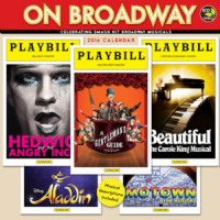 2016 Playbill On Broadway Wall Calendar